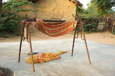 Free Cradle In A Village, Rajasthan Royalty Free Stock Images - 7896999