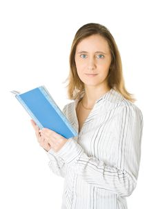 Free Woman With Book Royalty Free Stock Photos - 7897058