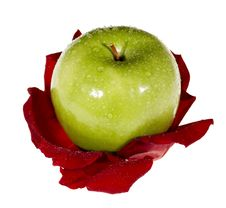 Free Apple And Flower Royalty Free Stock Images - 7897609