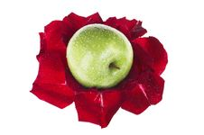 Free Apple And Flower Stock Images - 7897614