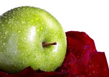 Free Apple And Flower Royalty Free Stock Image - 7897626