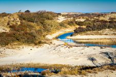 Free River In The Dunes Stock Image - 7897921