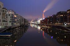 Westhafen Marina Stock Image