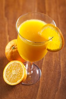 Free Freshly Squeezed Orange Juice Stock Photography - 7898552