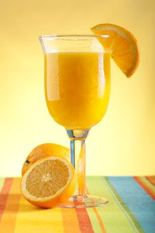 Free Freshly Squeezed Orange Juice Stock Images - 7898754