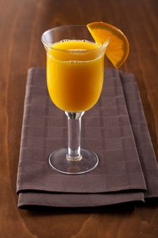 Free Freshly Squeezed Orange Juice Royalty Free Stock Photo - 7898855
