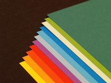 Free Sequenced Colored Papers Royalty Free Stock Photos - 7899528