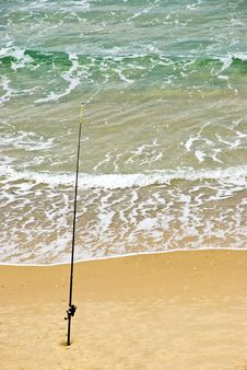 Free Fishing Rod Royalty Free Stock Photos - 7899648