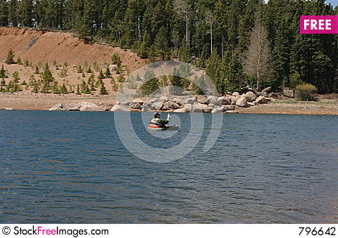 Belly boat fishing free stock images photos 796642 for Belly boat fishing