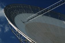 Free Radio Antenna Dish. Close-up. Stock Photos - 790583