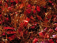Free Christmas Tinsel. Royalty Free Stock Image - 792996