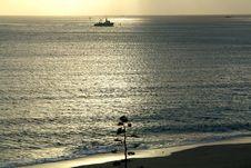 Free Boats Fishing And Beach Stock Photo - 793050