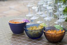 Free Chips And Drinks Stock Image - 793311