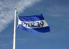 Free Pier Flag Royalty Free Stock Image - 793346