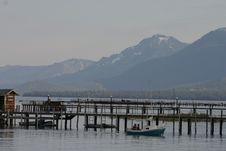 Boat Harbor Royalty Free Stock Photo