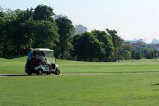 Free Golfcart Royalty Free Stock Image - 793776