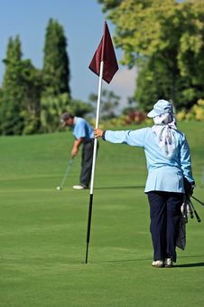 Free Golfer Stock Image - 793791