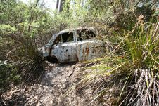 Free VINTAGE CAR WRECKAGE Stock Photography - 794932
