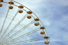 Free Ferris Wheel Royalty Free Stock Photography - 794947
