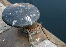 Free Mooring Point Royalty Free Stock Photography - 794957
