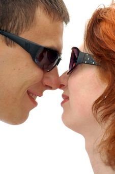 Free Two Lovers Royalty Free Stock Photos - 795058