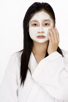 Free Face Pack Stock Photography - 795742