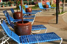 Free Deck Chairs Royalty Free Stock Photography - 798157