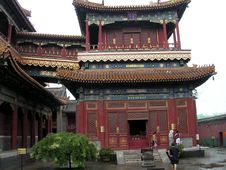 Free Chinese Temple Royalty Free Stock Image - 798276