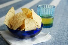 Free Nachos And Beer Royalty Free Stock Image - 798536