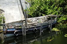 Free Old Boat Stock Image - 798841