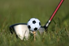 Free Teeing It Up Stock Photography - 799112