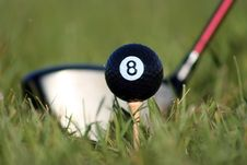 Free Behind The Eight Ball Royalty Free Stock Photo - 799115