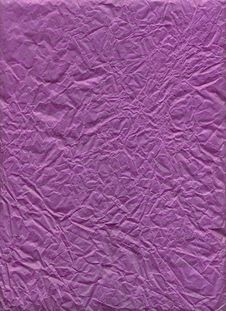 Free Purple Wrinkled Paper Royalty Free Stock Images - 799479