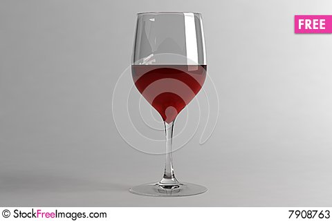 Free Glass With Wine Stock Photos - 7908763