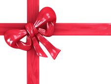 Free Gift Box With Red Ribbons Stock Photo - 7900130