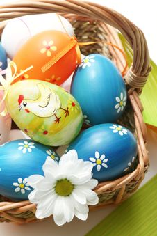 Free Easter Basket Stock Images - 7900894