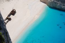 Free Navagio - Zakynthos Island Blue Sea Beach Greece Stock Photos - 7900923