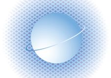 Free Blue Background With Sphere. Royalty Free Stock Photography - 7901087