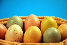 Free Colorful Easter Eggs Royalty Free Stock Photo - 7901585