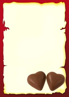 Free Two Chocolate Stock Photography - 7901692