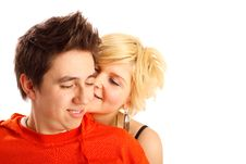 Free Happy Young Couple Stock Photography - 7901772
