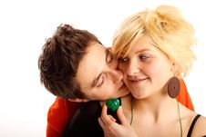Free Happy Young Couple Royalty Free Stock Images - 7901789