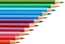 Free Row Of Pencils Stock Photo - 7901870