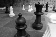 Free Outdoor Chess Stock Photo - 7902050