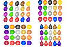 Color Buttons For Web And Design
