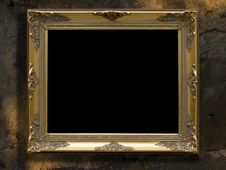Free Frame Gold Retro Royalty Free Stock Image - 7903026