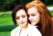 Free Best Friends Royalty Free Stock Photos - 7903028