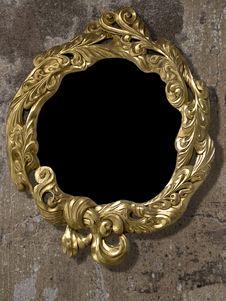 Free Frame Gold Retro Royalty Free Stock Photos - 7903078