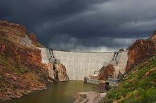 Free Rosvelt Dam Stock Image - 7903351