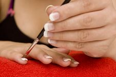 Free Nail Care Royalty Free Stock Images - 7903699